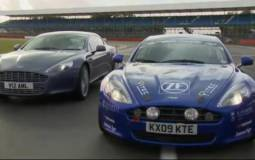 Aston Martin Rapide racer review video