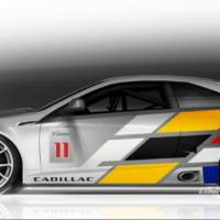 Cadillac CTS-V Coupe racecar