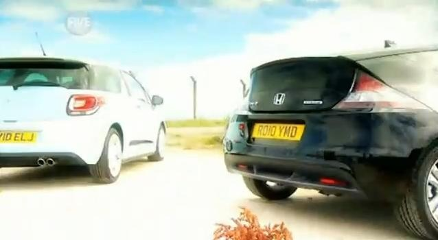 Citroen DS3 vs Honda CRZ video