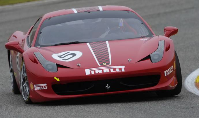Ferrari 458 Challenge debut