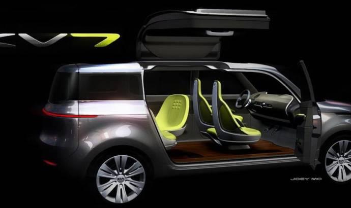 Kia KV7 Concept debut