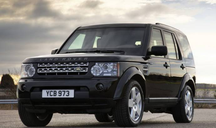 Land Rover Discovery 4 Armoured Edition