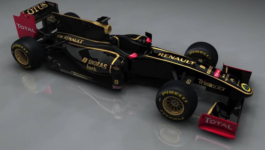 Lotus Renault GP F1 car revealed