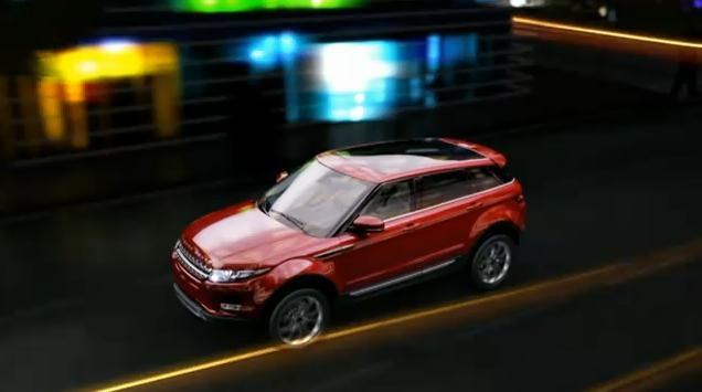 Range Rover Evoque 5 Door video