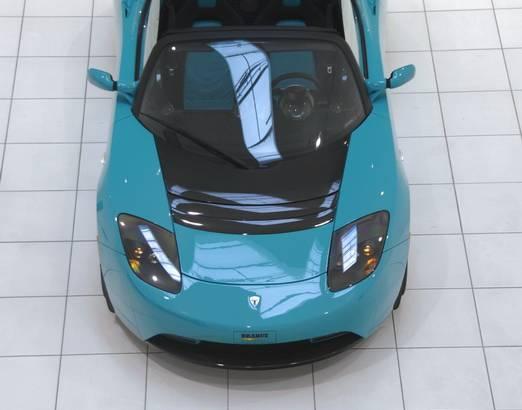 TESLA Roadster Sport BRABUS Green Package