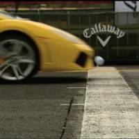 Video: Lamborghini Gallardo vs Golf Ball