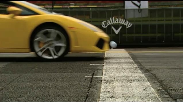 Video: Lamborghini Gallardo vs Golf Ball