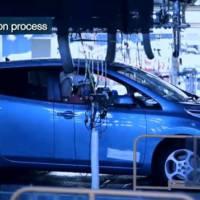 Video: Nissan LEAF production