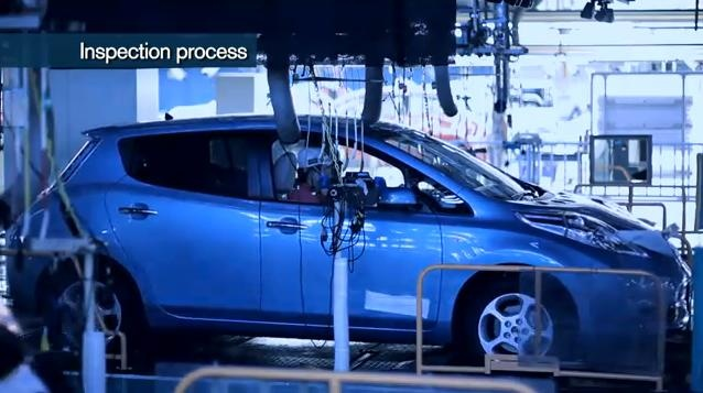 Video: Nissan LEAF production