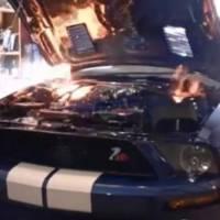 Video: Shelby GT500 Engine detonation