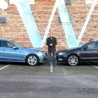 Video: Skoda Superb Estate vs Mercedes E Class Estate