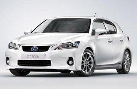 2011 Lexus CT 200h US price