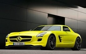 Mercedes SLS E Cell review video