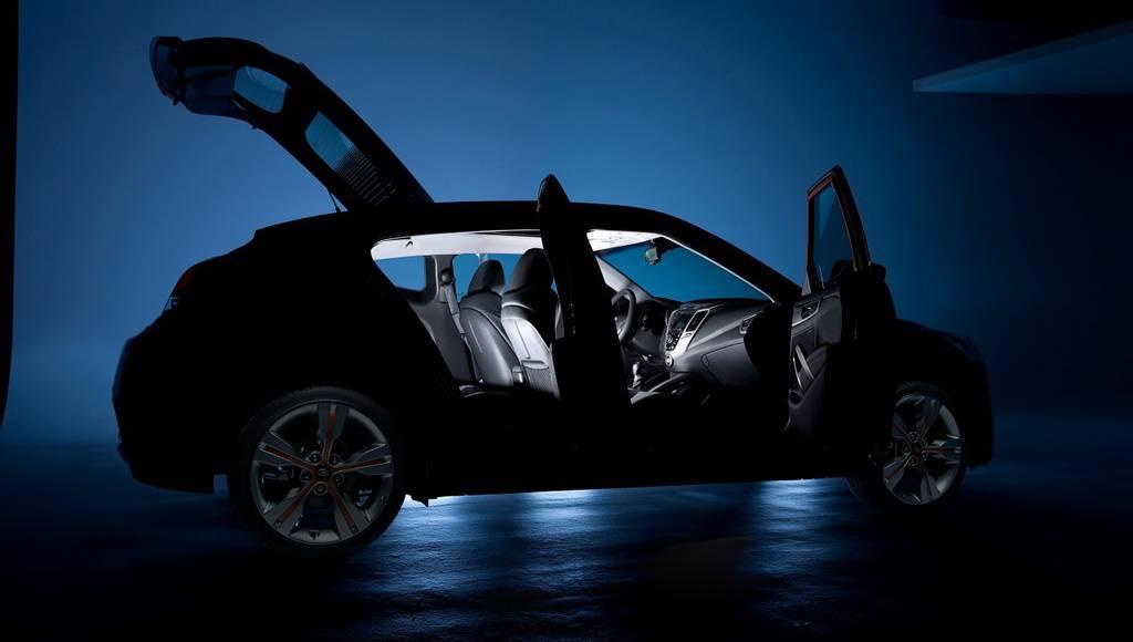 2012 Hyundai Veloster teased