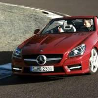 2012 Mercedes SLK video