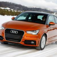 Audi A1 quattro testing