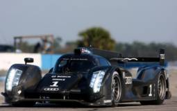 Audi R18 completes testing at Sebring