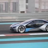 BMW i8 spy video