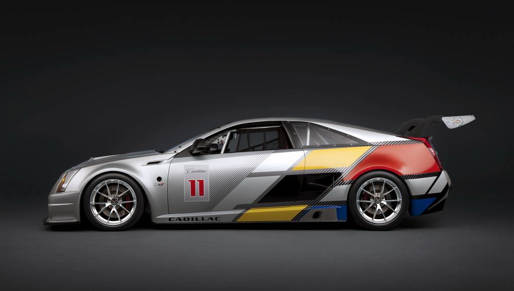 Cadillac CTS-V Coupe Race Car photos