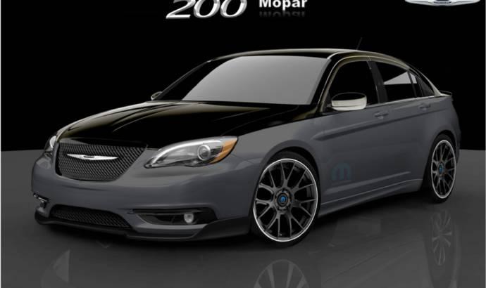 Fiat 500 and Chrysler 200 by Mopar