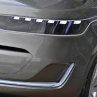Kia KV7 Concept second teaser