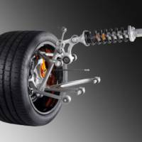 Lamborghini Aventador pushrod suspension