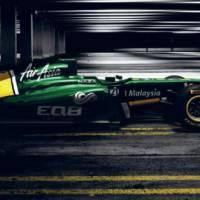Lotus T128 2011 Formula 1 Car