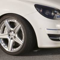 Mercedes B55 gets 388 HP 5.5 litre V8
