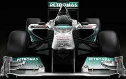 Mercedes W02 2011 F1 Car