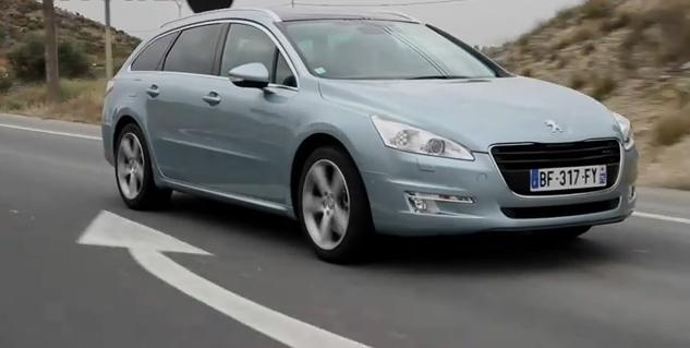 Peugeot 508 review video