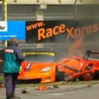Top Motorsport Crashes 2010 Video