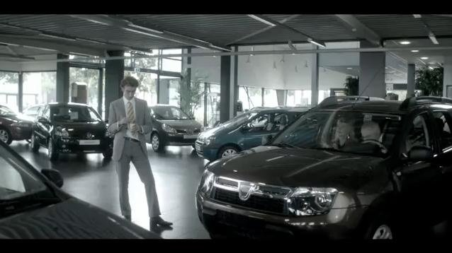 Video: Banned Dacia Duster Commercial