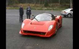 Video: Ferrari 4/5 by Pininfarina testing