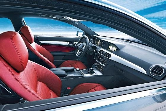 2012 Mercedes C Class Coupe photos leaked