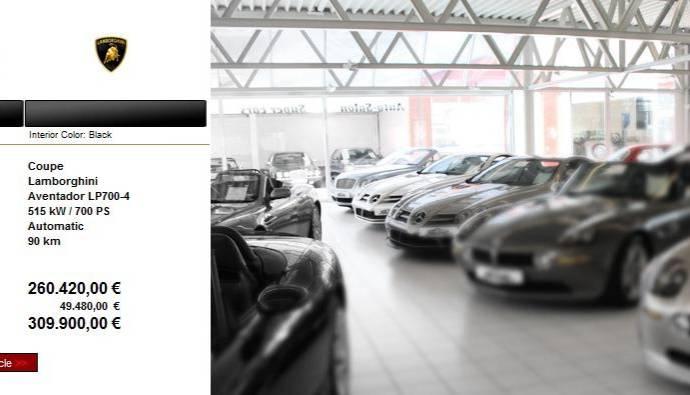 Lamborghini Aventador LP700-4 Price