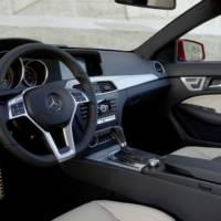 2012 Mercedes C Class Coupe new photos