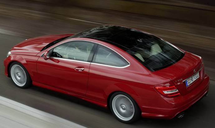 2012 Mercedes C Class Coupe new photos