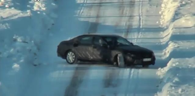 2013 Mercedes S Class Spy Video
