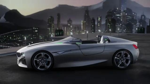 BMW Vision ConnectedDrive video