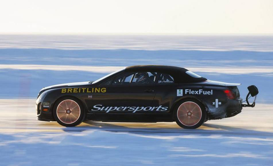 Bentley Supersports Ice Speed Record Convertible