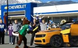 Chevrolet Camaro Super Bowl Commercial Video