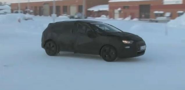 Citroen DS5 Spy Video