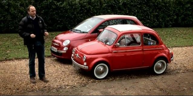 Fiat 500: Old vs New