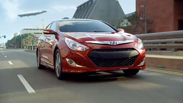 Hyundai Elantra and Sonata Hybrid ads for Super Bowl