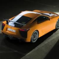 Lexus LFA Nurburgring - new photos and details