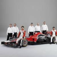 Marussia Virgin Racing MVR02 2011 F1 Car