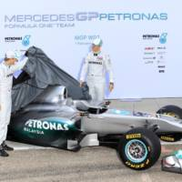 Mercedes W02 Formula 1 Car