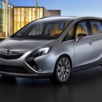 Opel Zafira Tourer Concept revealed
