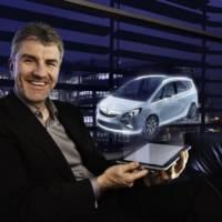Opel Zafira Tourer Concept teaser