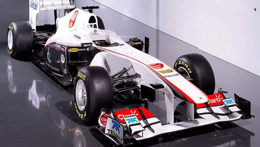 Sauber C30 2011 F1 Car